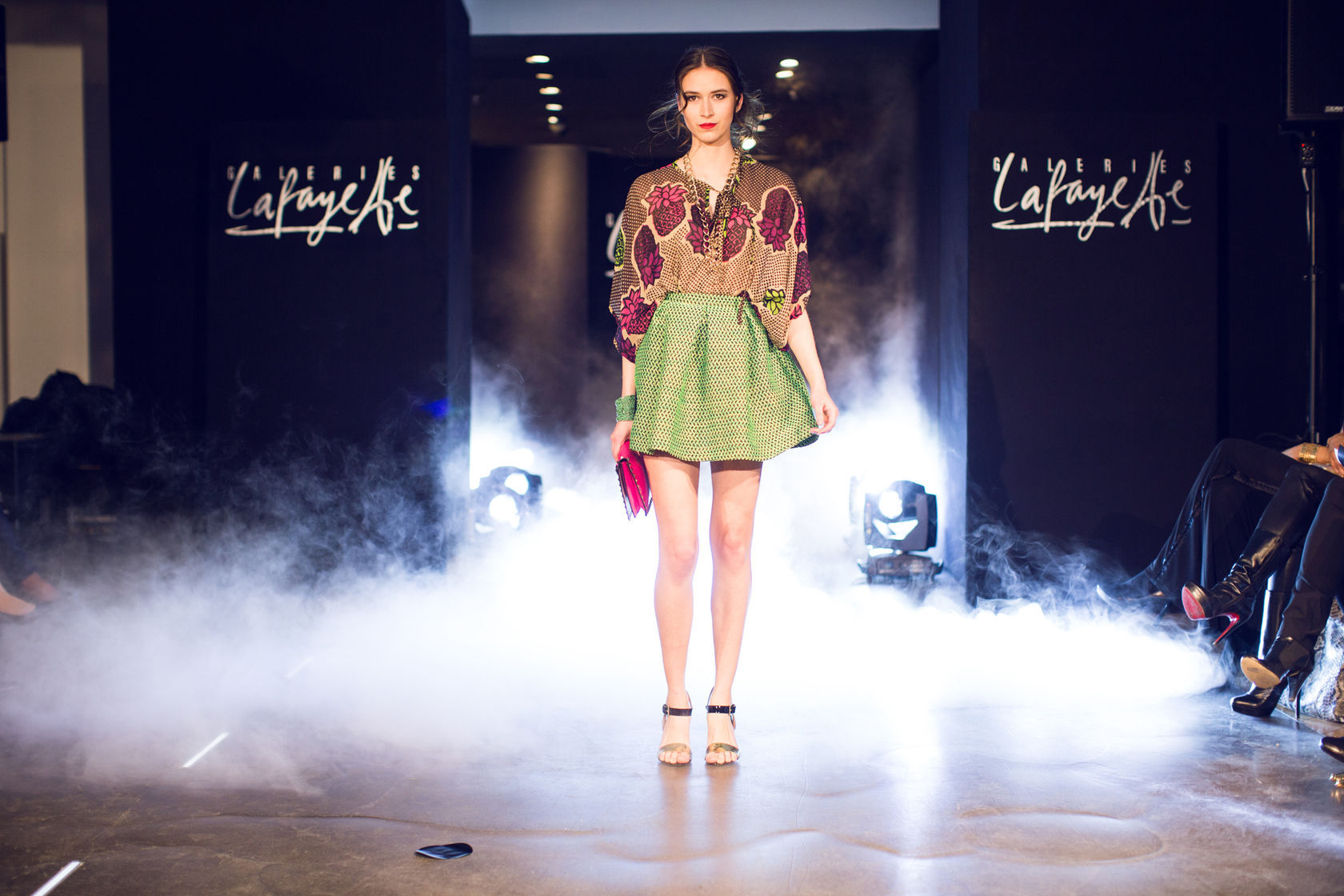 L is for LOIS: GALERIE LAFAYETTE FASHION SHOW PRINTEMPS ...